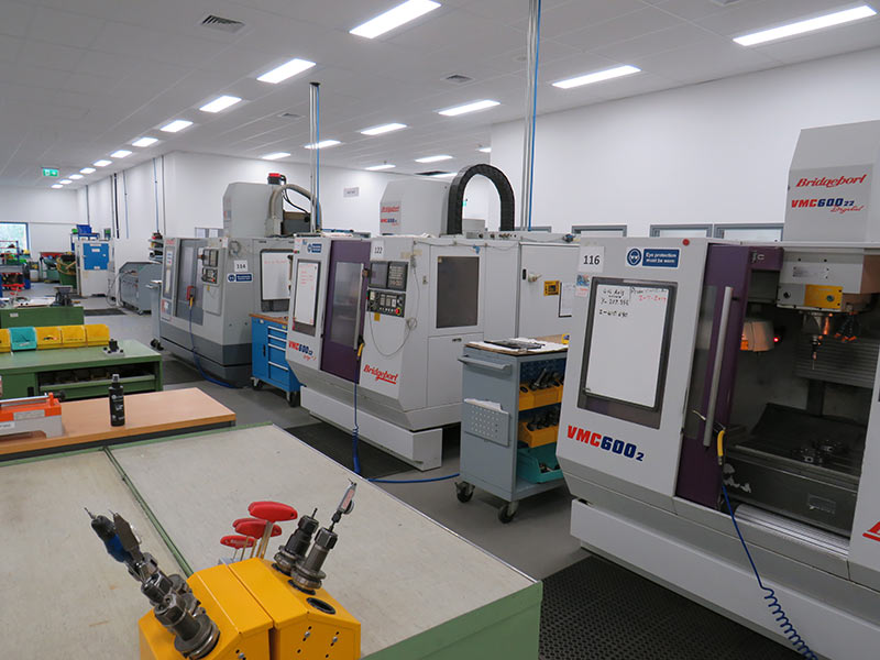 Home machine shop facilities